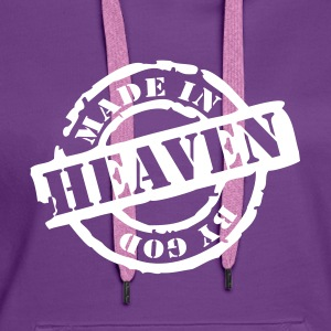 Made by God Pullover - Frauen Premium Hoodie