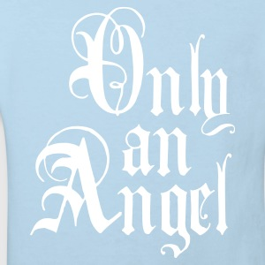 Nur ein Engel  / Only an_Angel Kinder Bio Shirt blau + alle Farben - Kinder Bio-T-Shirt