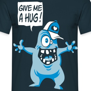 Give me a hug - T-shirt Homme