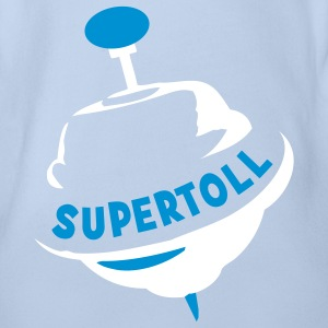super toll T-Shirts - Baby Bio-Kurzarm-Body