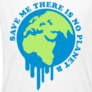 Save Me Planet B T-Shirts - Männer Bio-T-Shirt