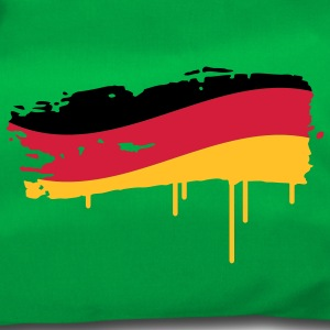 Germany flag painted with a brush stroke Bags  - Duffel Bag