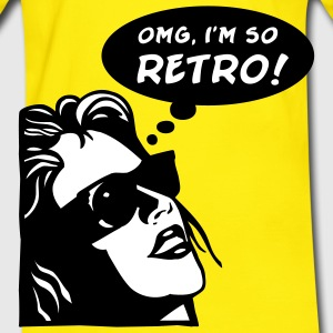 Yellow/green so retro T-Shirts - Men's Ringer Shirt