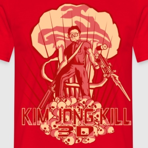 Hail To The Kim, Baby! - Men's T-Shirt