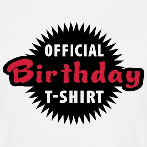 official_birthday T-Shirts - Männer T-Shirt