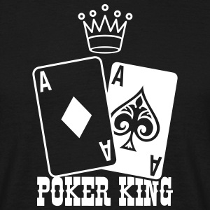 Poker King T-shirts - Herre-T-shirt