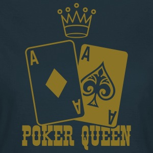 Poker Queen T-shirts - Dame-T-shirt