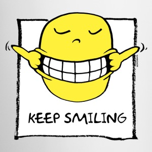 keep smiling Tassen - Tasse