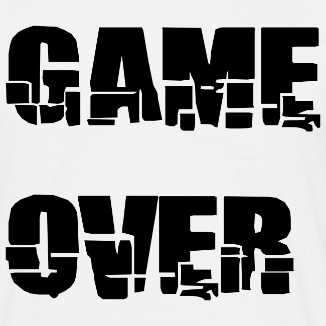 H.F.V game over t-shirt