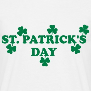 St. Patrick's Day T-shirts - Herre-T-shirt