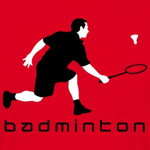 badminton_022011_r_2c T-Shirts - Men's T-Shirt