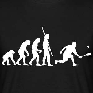 evolution_badminton_022011_c_1c T-shirts - Mannen T-shirt