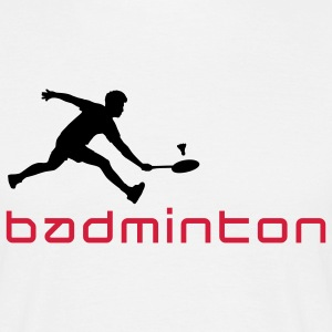 badminton_022011_v_2c T-Shirts - Men's T-Shirt