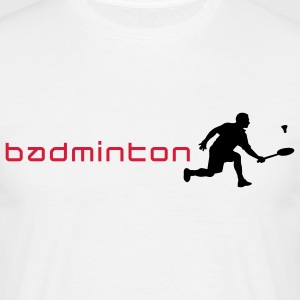 badminton_022011_z_2c T-Shirts - Men's T-Shirt