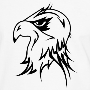The head of a falcon  T-Shirts - Men's Ringer Shirt