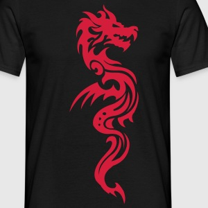 tribal dragon T-shirts - Mannen T-shirt