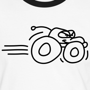 autos__monstertruck_1c T-shirts - Herre kontrast-T-shirt