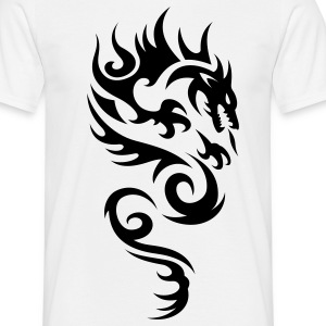 tribal dragon T-skjorter - T-skjorte for menn