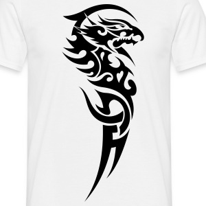 tribal dragon T-shirts - T-shirt Homme