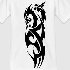tribal dragon Kids' Shirts - Teenage T-shirt