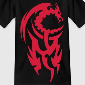 tribal dragon Kinder shirts - Teenager T-shirt