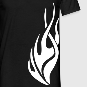 tribal flame T-Shirts - Men's T-Shirt