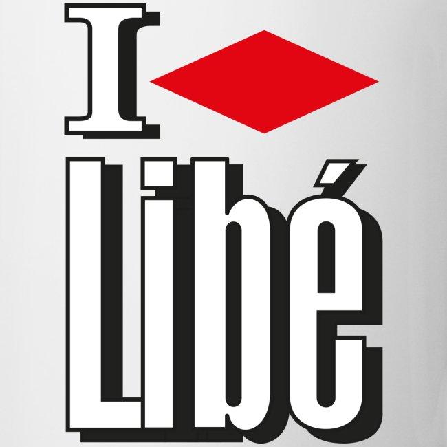 Mug I Love Libé