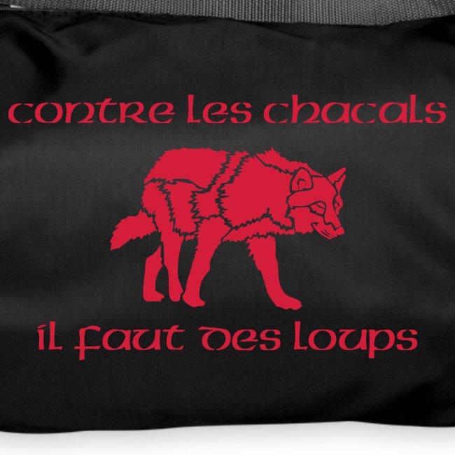 "Sac de sport ""Loup"""