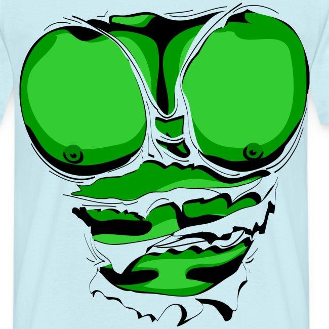Mannenshirt 'Music is my drug'