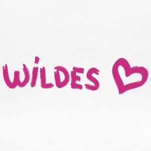 Herz Wildes 2 pink