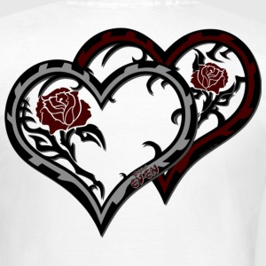 Herz Rose Tribal Tattoo W5 - Frauen T-Shirt