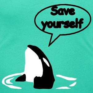save_yourself T-Shirts - Women's Scoop Neck T-Shirt