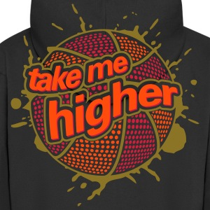 BASKETBALL TAKE HIGHER (C3P) by toneyshirts.de Jacken - Männer Premium Kapuzenjacke