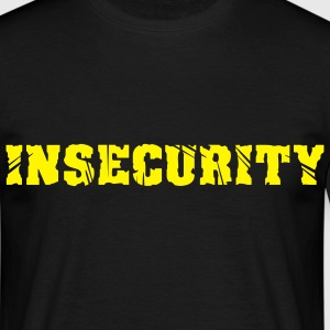 INSECURITY - T-shirt herr