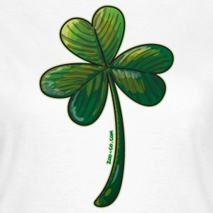 Saint Paddy's Day Clover T-Shirts - Women's T-Shirt