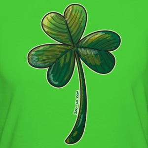 Saint Paddy's Day Clover T-Shirts - Women's Organic T-shirt