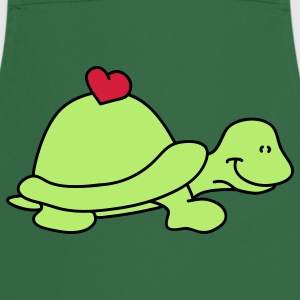 Small turtle love  Aprons - Cooking Apron