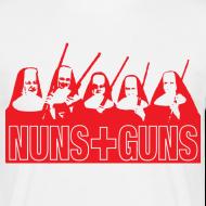 Ontwerp ~ Funny T-shirt Nuns & Guns