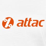 Motiv ~ Attac Logo Shirt für Frauen