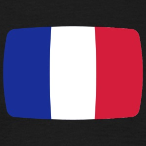 France flag France flag France République Française French  T-Shirts - Men's T-Shirt