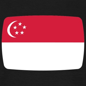 Singapore Flag Singapore Flag Singapore Malay  T-Shirts - Men's T-Shirt