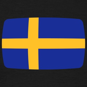 Sweden Flag Sweden Swedish Sverige Flag  T-Shirts - Men's T-Shirt