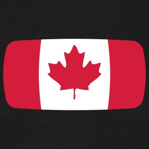 Canada Flag Canada Flag Canada Canadian French  T-Shirts - Men's T-Shirt