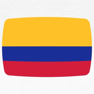 Colombia Colombia vlag vlag Colombia Colombiaanse Colombiaanse T-shirts - Vrouwen T-shirt