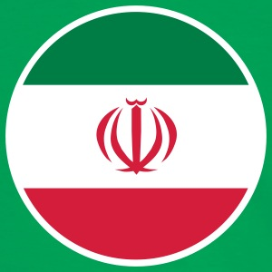 Iran, إيران, Irán, Flaggen, flags, Länder, countries, الثورة, Revolution, انقلاب, eushirt.com T-Shirts - Männer Kontrast-T-Shirt