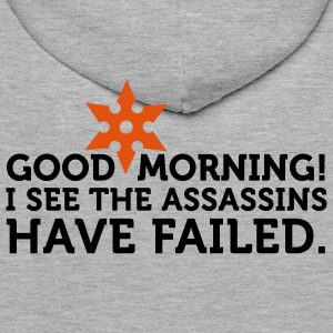I See The Assassins Have Failed 2 (2c) Sweatshirts - Sweat-shirt à capuche Premium pour hommes