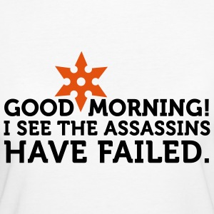 I See The Assassins Have Failed 2 (2c) T-shirt - T-shirt ecologica da donna