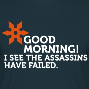 I See The Assassins Have Failed (2c) Camisetas - Camiseta hombre