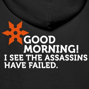 I See The Assassins Have Failed (2c) Sweatshirts - Sweat-shirt à capuche Premium pour hommes