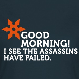 I See The Assassins Have Failed (2c) T-shirts - T-shirt Femme